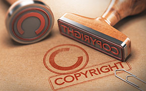 Applying for a copyright